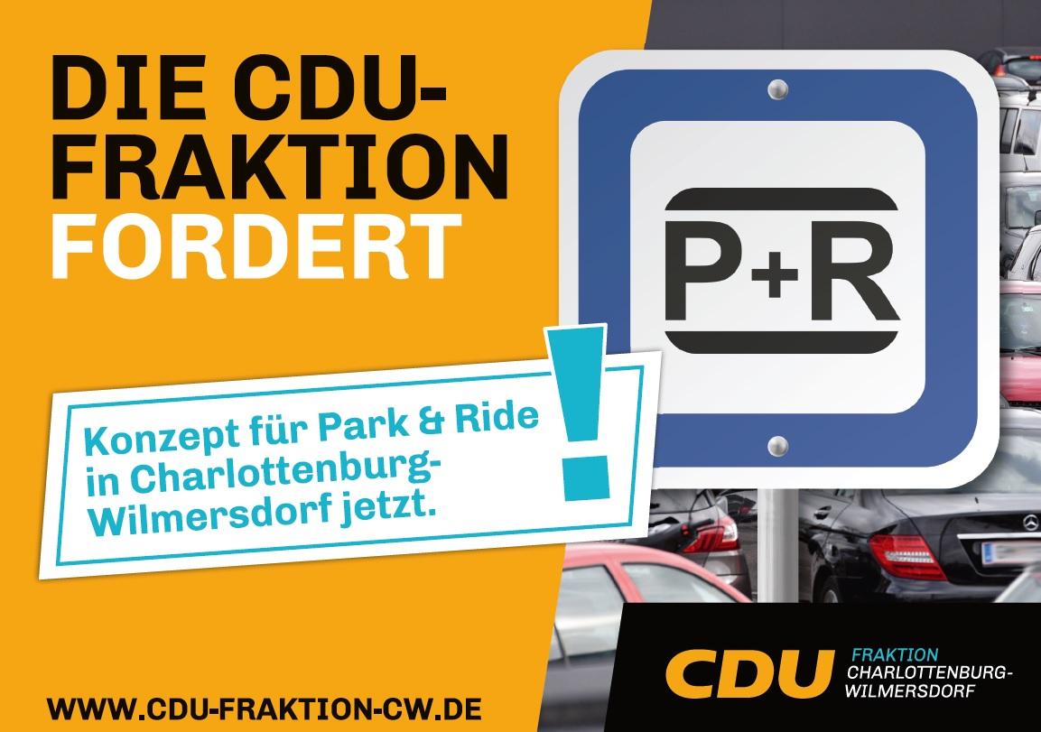 Wir fordern ein Konzept für Park & Ride in Charlottenburg-Wilmersdorf jetzt!